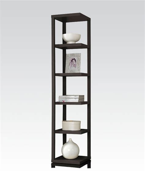 Thin Bookcase by Acme Furniture Thin Bookcase Ac92090