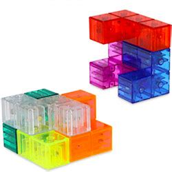 mastercubestoredk yj magic cube building blocks magnetic transparent