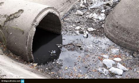 sewage  india