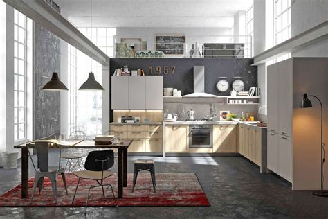 cuisine style industriel loft cuisine style design industriel idéal pour loft ou grande