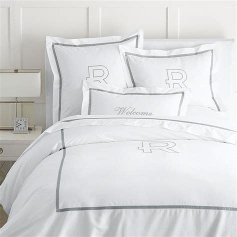 Monogrammed Coverlet by Stylebeat Fresh Direct And Graham Launches Crisp