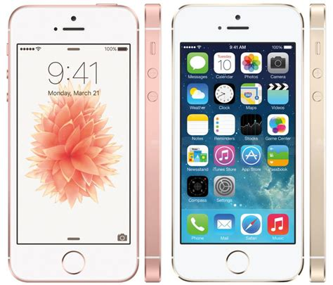 for iphone iphone se vs iphone 5s what s the difference