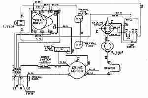 I Need The Wiring Diagram For A Maytag Dryer Model