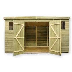 james 10 x 8 pent shed plans dvd empire