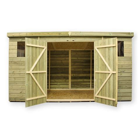 6 X 8 Pent Shed Plans by Tifany 12x8 Pent Shed Plans