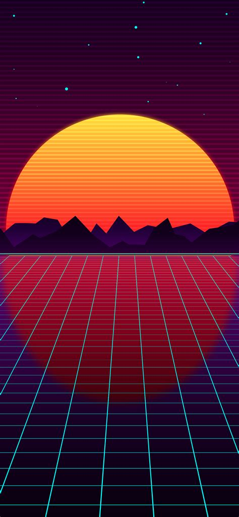 Download our free vintage boat mobile phone wallpaper right now. Retro style outrun wallpaper for phone in hd | HeroScreen ...