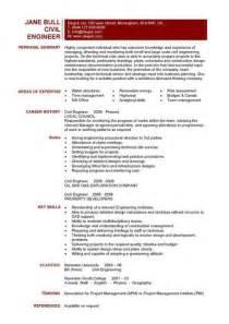 resume sle format word document sle civil environmental engineering resume template download best 25 civil engineering