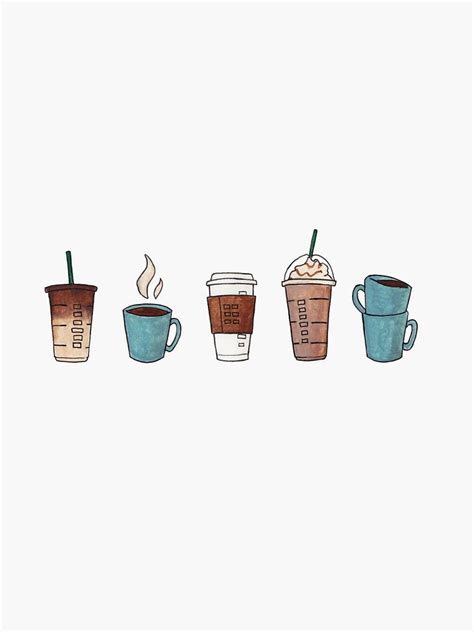 Free download coffee illustration aesthetic desktop. Coffee? | Sticker in 2020 | Pattern illustration, Coffee wallpaper iphone, Coffee illustration