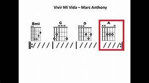 Vivir Mi Vida - Moving Chord Chart