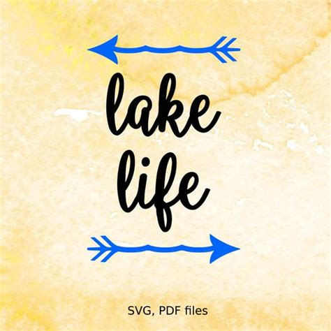Supports both and animated, interactive graphics and declarative scripting. Lake Life SVG cutting file for silhouette svg file for | Etsy