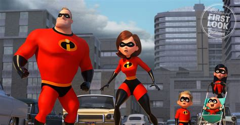 Incredibles 2 First Look Holly Hunter's Elastigirl Takes