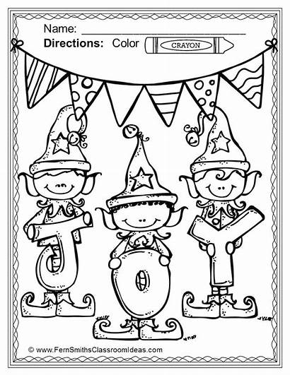 Christmas Coloring Pages Days Twelve Printable Fun