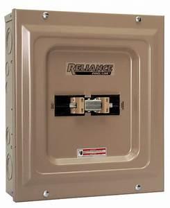 Reliance Controls Tca1006d Panel Link 100 Amp Utility 60