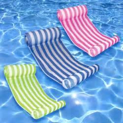rec suncliner water hammock yellow splash