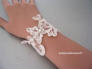 bijoux mariage dentelle bracelet ravissante With bracelet de mariage