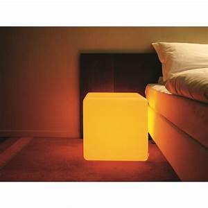 cube lumineux exterieur mundufr With spot eclairage arbre exterieur 8 pot lumineux ledinterieur et jardin deco lumineuse
