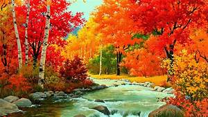 Wallpaper Desk : Autumn River WallpaperWallpaper Desk