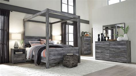 Furniture Canopy Bedroom Sets by Baystorm Canopy Bedroom Set Signature Design Furniture Cart