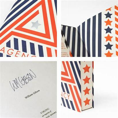 Agency William Gibson Signed Exclusive Edition Milled