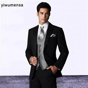 Costume Pour Homme Mariage : style costume mariage homme fashion designs avec noir avec gris costumes de mariage pour les ~ Melissatoandfro.com Idées de Décoration