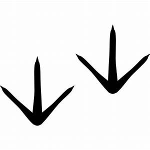 Chicken footprints - Free Animals icons