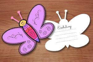bastelvorlage schmetterling kostenlos bastelvorlage und anleitung f 252 r schmetterlings einladung zum kindergeburtstag kindergeburtstag
