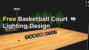 Basketball Court Led Lighting  2020 Update