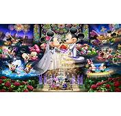 Mickey Mouse And Minnie Wedding Disney Puzzle Love