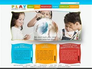 kindergarten brochure templates free various high With play school brochure templates