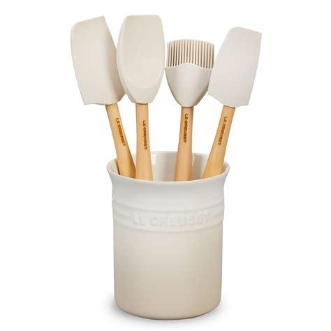 creuset le silicone utensil piece meringue kitchen tools crock cutlery