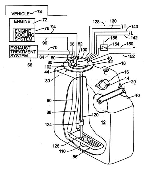 patent  urea tank  closure member