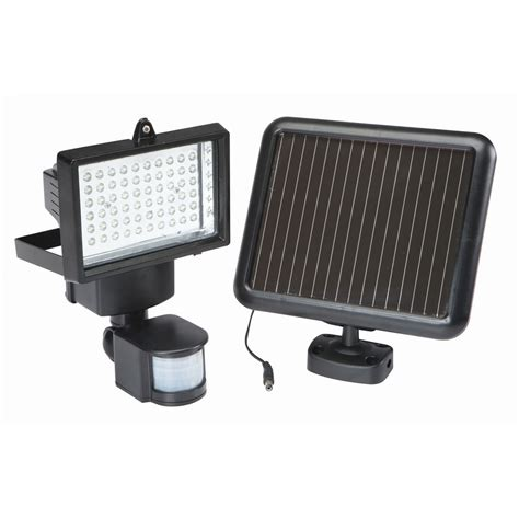 solar powered spotlight motion sensing sunfire