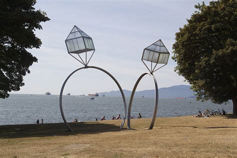 wedding ring vancouver bc fabulous sculpture in vancouver bc and wedding rings creative