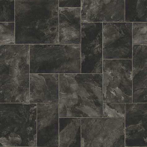 octavina black vinyl  vinyls bathroom  slate