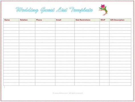 wedding rsvp tracker spreadsheet google spreadshee wedding