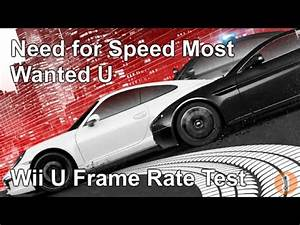 Need For Speed Wii : need for speed most wanted u wii u frame rate test youtube ~ Jslefanu.com Haus und Dekorationen
