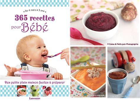 cuisine bébé livre recette bébé trendyyy com