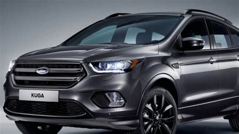 2019 Ford Kuga Engine High Resolution Wallpaper