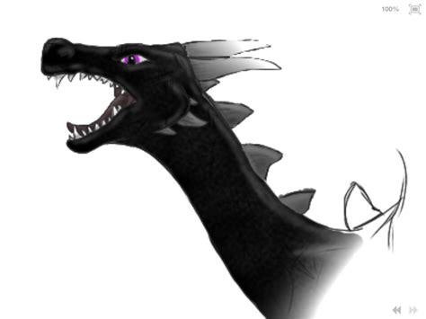 Minecraft Ender Dragon Head By Snettiknayc On Deviantart