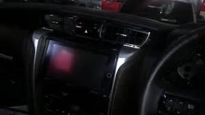 Remove Head Unit Toyota Fortuner 2016