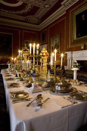 dining room  attingham park shrewsbury shropshire