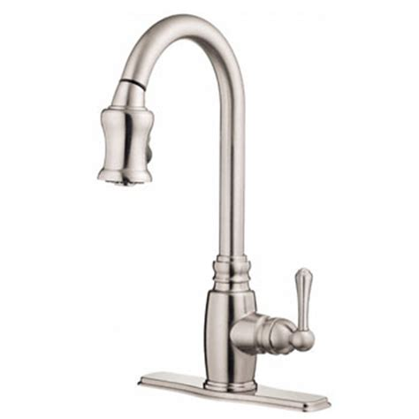 danze opulence pull kitchen faucet danze d454557ss opulence single handle pull kitchen