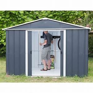 Petit Abri De Jardin : petit abri de jardin m tal 2 77 m ep 0 30 mm yardmaster ~ Premium-room.com Idées de Décoration