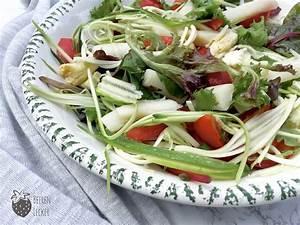 Salat Mit Zucchini : spargel zucchini salat mit sesam zitronen dressing ~ Lizthompson.info Haus und Dekorationen