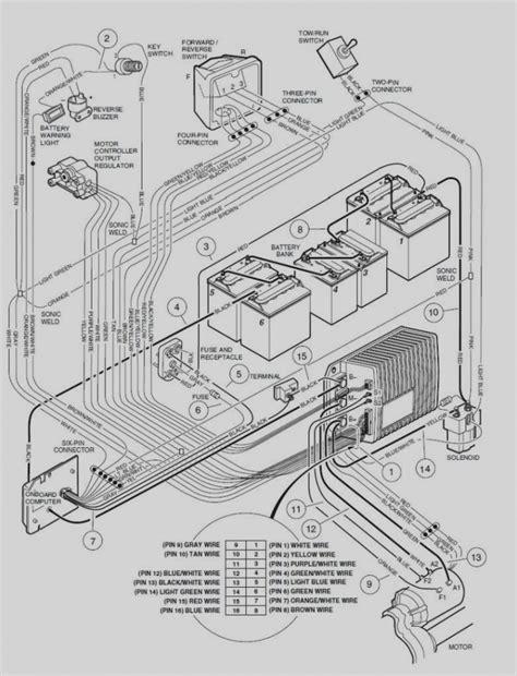 precedent golf cart wiring diagram relay best site