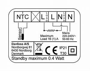 Devireg Smart Programmable Thermostat  Black