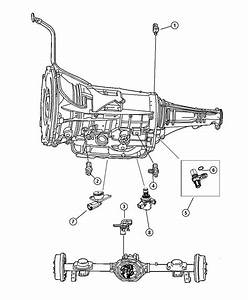 Dodge Dakota Sensor  Transmission Output Speed  Output