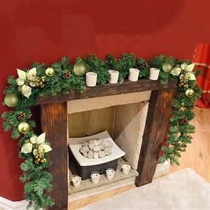 2, 7m, Long, Green, Christmas, Garland, Pine, Wreath, Xmas, Fireplace, Tree, Decor, Ornament