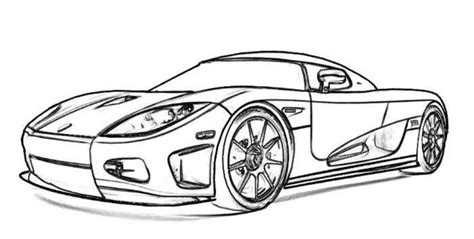 Printable Sports Car Coloring Pages See the category to