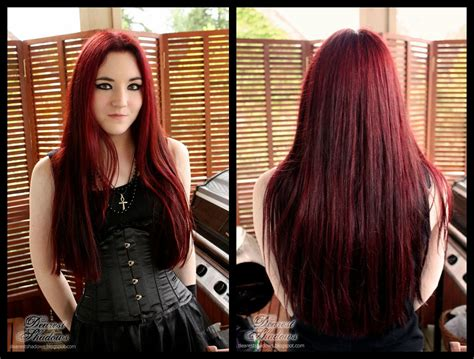 Dearest Shadows Red Hair And My Red Dye Experimentations